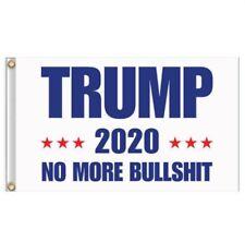 3'x5' Flag Trump 2020 No More Bullshit President Donald Trump Flag 3x5 Feet