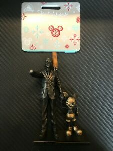 Walt Disney and Mickey Mouse Hanging Christmas Ornament (Damaged) re 7/12/20