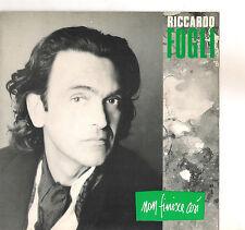 RICCARDO FOGLI - NON FINISCE COSI' - SOLO COPERTINA - ONLY COVER - EX++