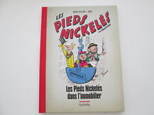 PIEDS NICKELES DANS L'IMMOBILIER N°7 TTBE/NEUF DOS TOILE ROUGE LA COLLECTION