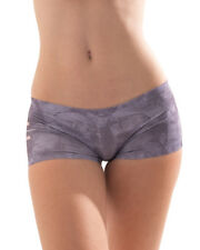 "CROOTA Womens Boyshort Underwear, Seamless Low Rise Panty, M (Hip 34-37"")"