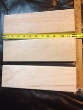 Balsa Wood Block 2 x 4 x 12, 3 pieces Free Shipping (3 3/4 x 1 3/8 x 12 exactly)