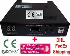Floppy Drive to USB Converter Charmilles Roboform Robofil Wire Cut 720 DD + 8GB