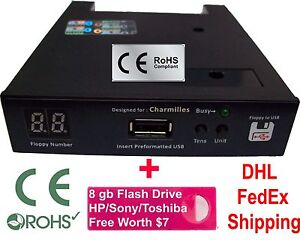 Floppy Drive to USB Converter Charmilles Roboform Robofil Wire Cut 720 DD + 8GB