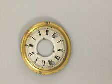 Antique  Mantel Clock Dial Parts Repair