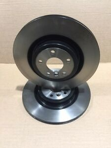 *BRAND NEW* GENUINE JAGUAR XF XE BRAKE DISC KIT T4N1744