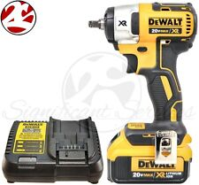 """DeWALT DCF890 20V MAX 4.0 Lithium Ion 3/8"""" Brushless Compact Impact Wrench Kit"""