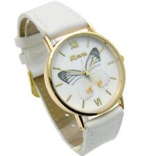 Reloj de Cuarzo Ravel Señoras Mariposa Diseño Correa Blanco R0135.04.2