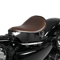 Solo Federsattel SG3 für Harley Dyna Fat Bob/Street Bob/Low Rider/S
