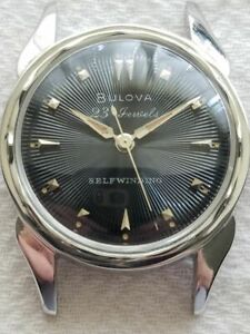 Selling Used Vintage Bulova 23 Jewel Model 23 A in a Stainless-Steel Case.......
