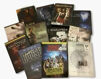 Lot of 12 DVD Horror Thriller Movies Halloween Scary Classic Films
