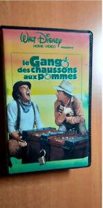 RARE...VHS SECAM - Le Gang des Chaussons aux Pommes de Walt Disney Réf 018/22