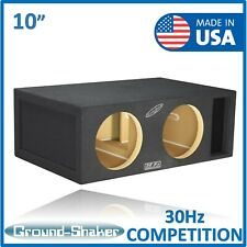 "30Hz Dual 10"" Reinforce Competition Ported Sub Box Dual 10"" subwoofer Enclosure"