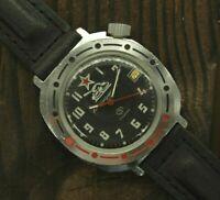 Soviet mechanical watch VOSTOK Komandirskie Russian Military Soviet TANK Diver