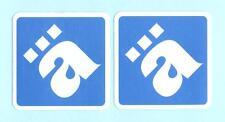 Die Ärzte - 2x ä - Aufkleber / Sticker - jeweils 6,5 cm mal  6,5 cm - siehe Bild