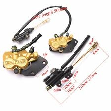 Rear Hydraulic Disc Brake Caliper Master Cylinder for Kawasaki ATV QUAD Buggy