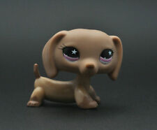 PINK EYE Dachshund Dog Littlest Pet child girl boy figure loose cute LPS935A