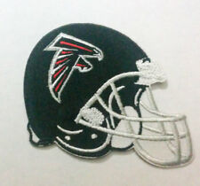 """Atlanta Falcons Helmet Iron On Patch 3"""" x 2 3/4"""" Free Shipping by Envelope Mail"""
