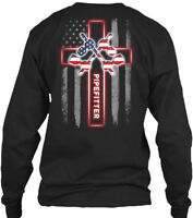 Off-the-rack Proud Pipefitter - Pipe Fitter Gildan Long Sleeve Tee T-Shirt