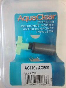AquaClear Aqua Clear 110 / 500 Hagen Impeller AC110 AC500  A638 A-638