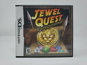 Jewel Quest: Expeditions (Nintendo DS, 2007) COMPLETE CIB Authentic