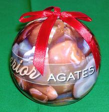 """Collector's 'LAKE SUPERIOR AGATE-AGATES ORNAMENT' 3"""" Decorative Gift"""