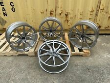 FITS RANGE ROVER SPORT 22'' SPYDER ALLOY WHEELS LAND ROVER & NEW TYRES SILVER