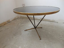 Table basse 1940-50 Jules Leleu,Jacques Adnet