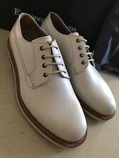 New $695 Ermenegildo Zegna Extra light Shoes NAT SLD 10.5 US ( 43.5 Eu ) Italy