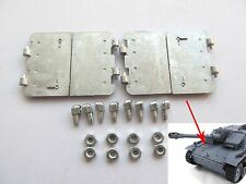 Mato Mt124 1/16 Tank German Stug Iii Metal Driver Transmission Inspection Hatch