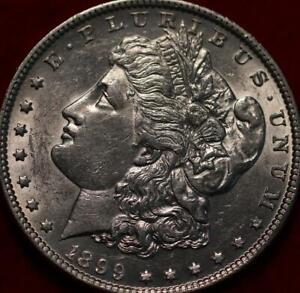Uncirculated 1899 Philadelphia Mint Silver Morgan Dollar