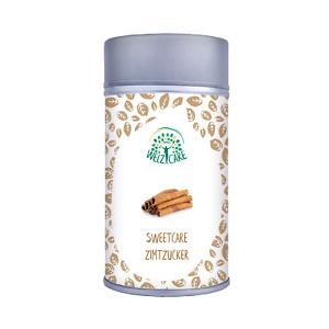 SweetCare Zuckerstreuer Zimt, mit Erythritol (Erythrit), Stevia und Ceylon Zimt