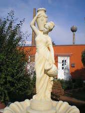 """Parkstatue, Gartenfigur,"""" Wasserträgerin """"Menschen, Steinguss,134 cm, Gartendeko"""