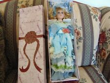 """18""""-  Crimson Collections Fine Porcelain Doll  New In Box"""