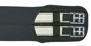 Sattelgurt Neopren einseitig Elast schwarz Gr.120 cm