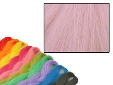 CYBERLOXSHOP PHANTASIA KANEKALON JUMBO BRAID LIGHT CHINA ROSE PINK HAIR DREADS