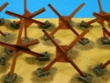 Accurate Armour FF76001 1/76 Resin WWII German Hedgehog Anti-Tank Obstacles