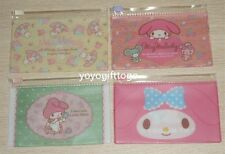 2014 Japan My Melody card holder coin bag PVC zipper pocket set of 4