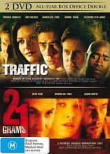 Traffic / 21 Grams (DVD, 2007, 2-Disc Set)*R4*terrific Condition*Sean Penn*