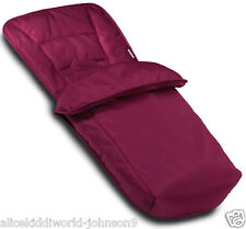 NEW HAUCK OFFICIAL COSYTOES COSY TOES  FOOTMUFF LINER IN PLUM