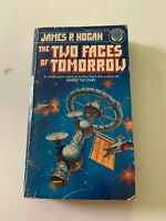 1979 The Two Faces Of Tomorrow by James P Hogan Del Rey 1st Edition Paperback