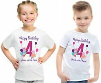 Personalised Birthday T-Shirt Daddy Lover Custom Name & Year Kids & Adult Tee To