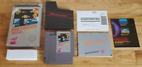 Metroid Nintendo NES Game Complete CIB Five 5 Screw w/ Box Poster & Manual Lot !
