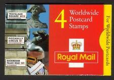 GB 1997 GL3 4 x 37P (£ 1.48) in tutto il mondo cartolina BARCODE BLOCCHETTO