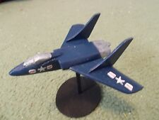Built 1/100: American VOUGHT F7U-1 CUTLASS Fighter Aircraft US Navy