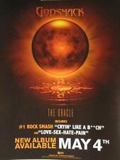 Godsmack 2010 the oracle static Big cling sticker New Old Stock Mint Condition
