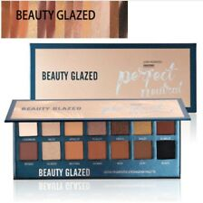 BEAUTY GLAZED Makeup Glitter Eyeshadow Pallete Matte The Nude Balm Eye shadows P