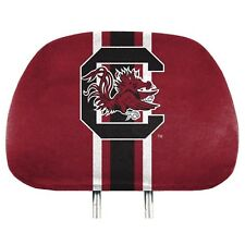 South Carolina Gamecocks PRINTED Color 2pack Head Rest Covers Auto University of