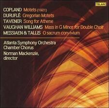 Choral Works : Copland, Durufle, Taverner, Vaughan Williams, Messiaen/Tallis