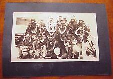 "1924 Duke Kahanamoku & Olympic Swim Team TH Hawaii 3 1/2"" x 5 3/4"""